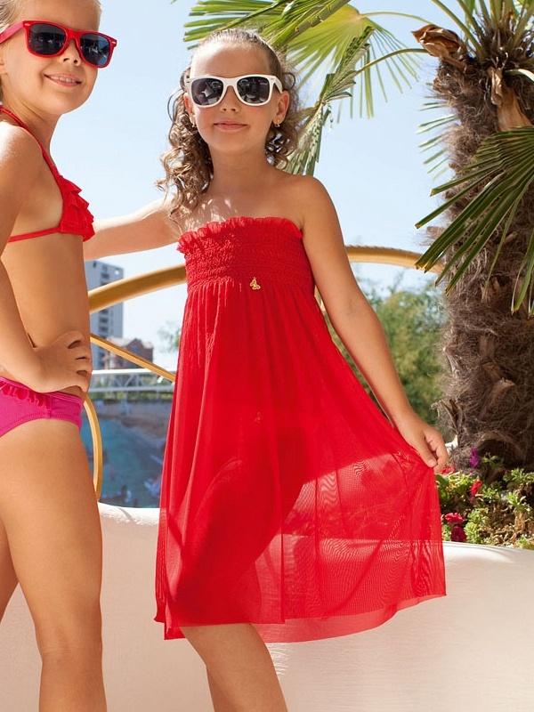 Пляжный сарафан для девочки сшить